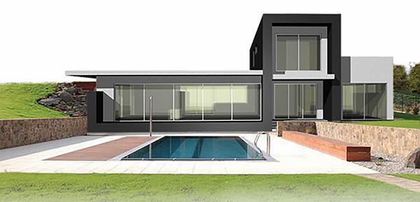 Nuova a costruzioni a secco con struttura in acciaio for App per costruire case